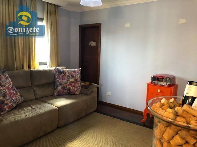 Apartamento com 3 dormitórios à venda, 150 m² por r$ 550.000,01 - vila bastos - santo andr - Foto 10