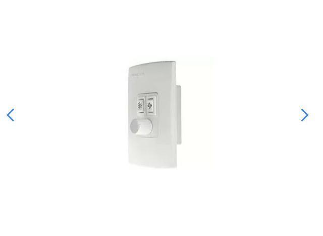 Controle De Ventilador/iluminação Bivolt Qv37 Qualitronix