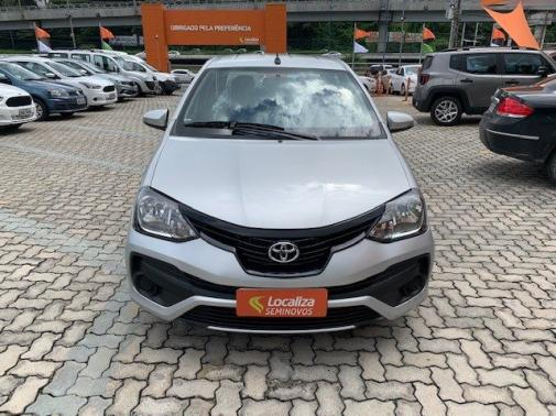 TOYOTA ETIOS 2018/2019 1.5 X SEDAN 16V FLEX 4P MANUAL