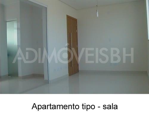 Apartamento à venda, 3 quartos, 2 vagas, gutierrez - belo horizonte/mg - Foto 3