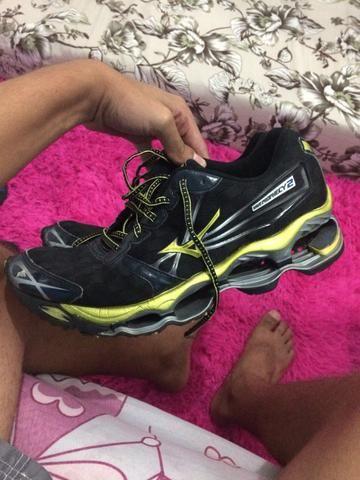 25daf2ea72960 Tênis Mizuno Wave Prophecy 2 189 - Roupas e calçados - Centro