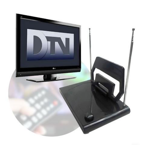 Antena Digital Interna SG-261 SG com Hastes e Seletor Vhf Uhf Fm Hdtv - Foto 4