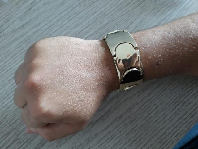 Chegou!! Bracelete moeda entrega grátis!! - Foto 4