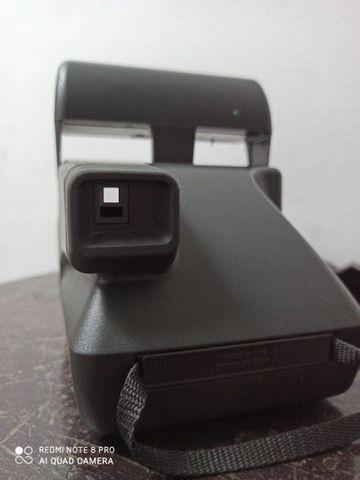 Camera fotográfica Polaroide antiga máquina no estado - Foto 3