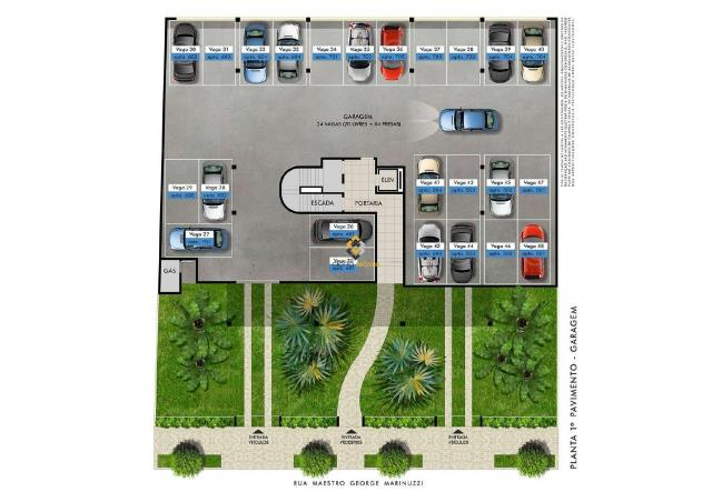 Apartamento à venda com 2 dormitórios em Castelo, Belo horizonte cod:3989 - Foto 5