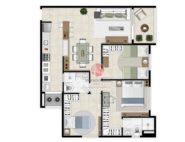 Apartamento com 2 dormitórios à venda, 56 m² por R$ 500.000,00 - Benfica - Fortaleza/CE - Foto 14