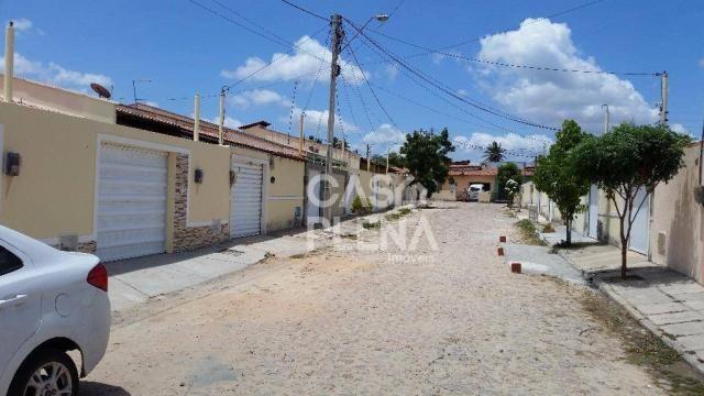 Casa com 2 dormitórios à venda, 71 m² por R$ 135.000 - CA0074 - Jabuti - Itaitinga/CE - Foto 3