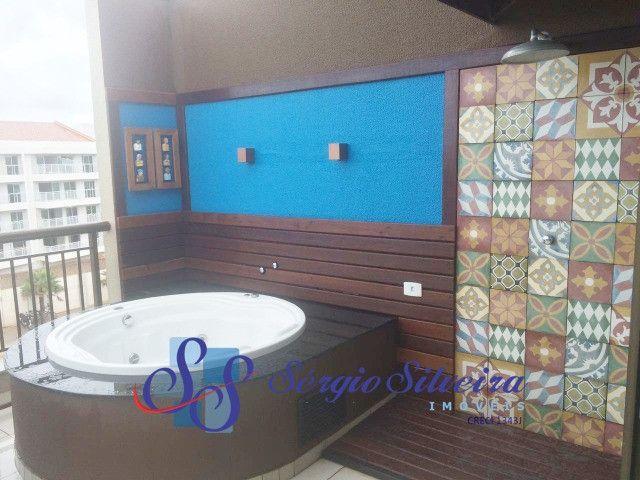 Cobertura duplex mobiliada no Mediterranée Residence no Porto das Dunas com 3 suítes - Foto 11