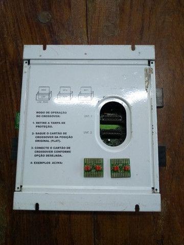 """Módulo Amplificador Banda Voxer 2.4 - 320 Watts Rms ### Muito Conservada """"Relíquia"""" # - Foto 5"""