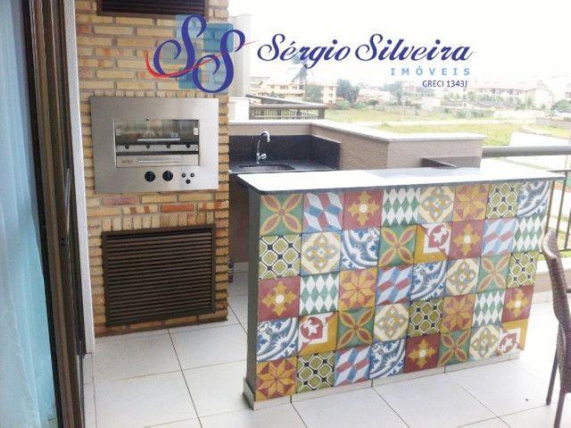 Cobertura duplex mobiliada no Mediterranée Residence no Porto das Dunas com 3 suítes - Foto 9