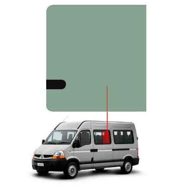 Vidro Janela Movel Direito/Esquerdo Renault Master 02/13 Vetroex