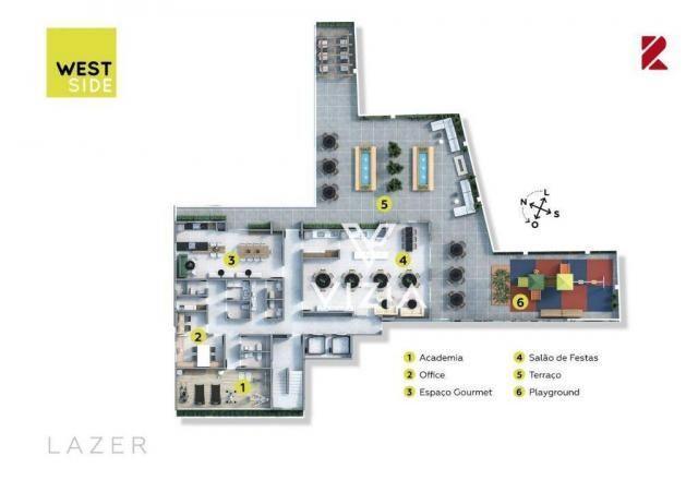 Apartamento com 1 dormitório à venda, 41 m² por R$ 315.000,00 - São Francisco - Curitiba/P - Foto 9