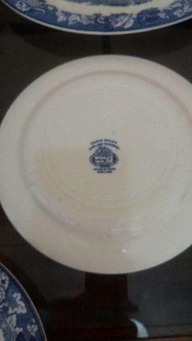 Peças De Jantar, Porcelana Inglesa importada, Original Wood & Sons  - Foto 2