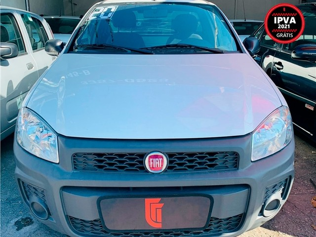 Fiat Strada 2020 1.4 mpi hard working ce 8v flex 2p manual - Foto 2
