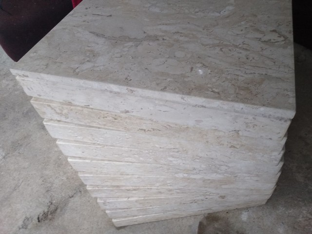 Mesa de mármore travertino - Foto 2