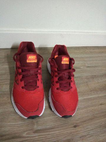Tênis Nike, tamanho 34, original - Foto 5