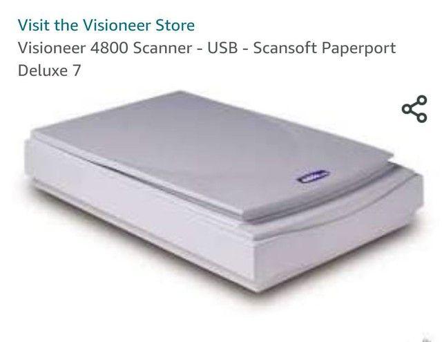 Vendo scanner visioneer store pouco usado - Foto 3