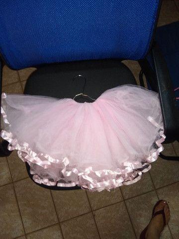 Tutu de ballet, tamanho 4 a 6 anos - Foto 2