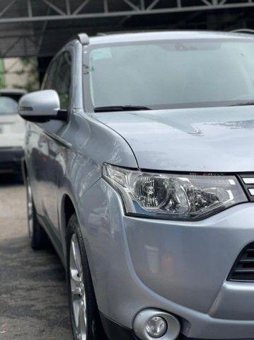 Outlander 2.0 2015 Automóvel Teto Solar Bancos em couro muito novo  - Foto 8