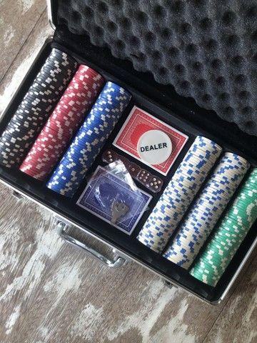 Maleta de Poker - Usada apenas uma vez! - Foto 2