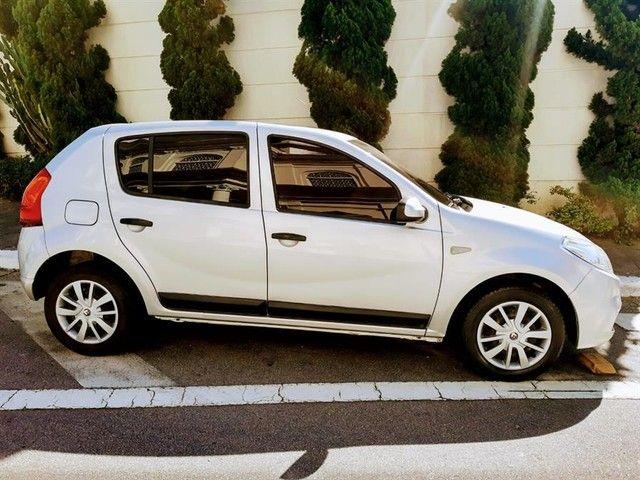 Renault Sandero Expression 1.6 Flex Prata Completo Doc Ok - Foto 7