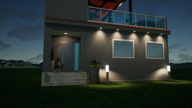 Casa em construção  em condomínio em Vargem grande  - Foto 3