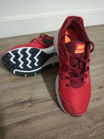 Tênis Nike, tamanho 34, original - Foto 2