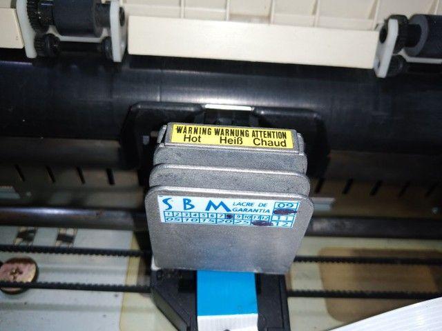 Impressora matricial Epson com cabos funcionando - Foto 3