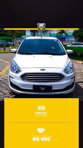 Ford Ka 2019 1.0 completo e vistoriado!!! - Foto 4