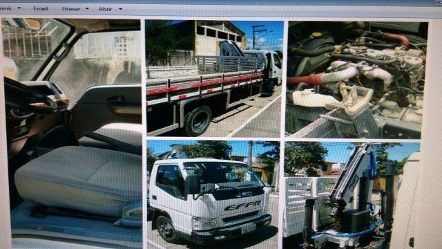 Caminhão jmc N900 com munck