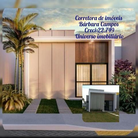 Record de vendas Concept ! casa 2/4 ,100% laje escritura grátis! entrada facilitada