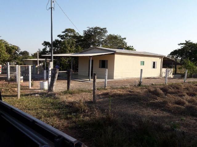 Chácara com Casa - 10 minutos da Cidade - 200 metros do Rio Araguaia - Barra do Garças-MT