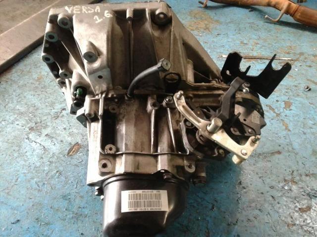 Caixa de Marcha Manual Nissan March / Versa 1.6 16v Flex / 5 velocidades instalada - Foto 2