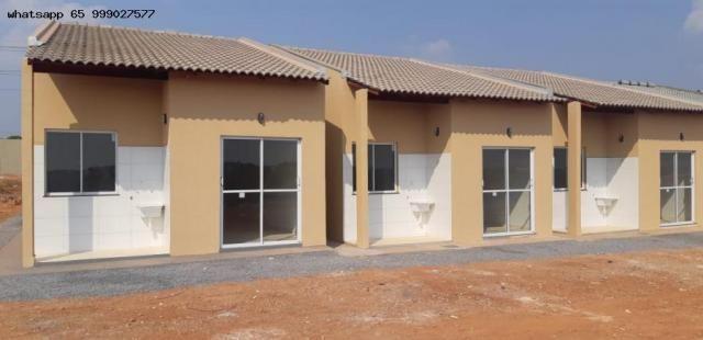 Casa para venda em várzea grande, paiaguas, 3 dormitórios, 1 banheiro, 2 vagas - Foto 3
