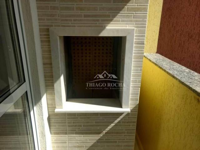 Apartamento 3 quartos, 1 suíte e sacada com churrasqueira- boneca do iguaçu - Foto 6