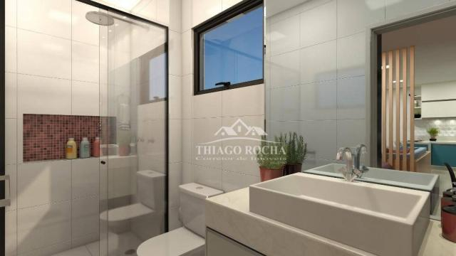 Studio com 1 dormitório à venda, 39 m² por r$ 189.000 - são pedro - são josé dos pinhais/p - Foto 9