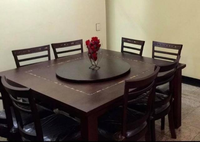 Mesa de Jantar de Madeira - Foto 3