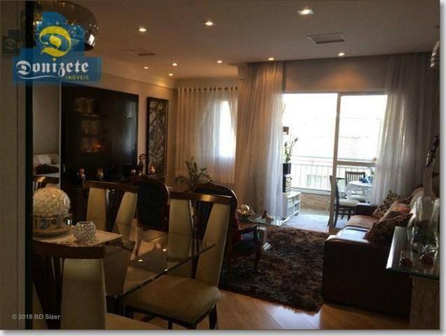 Apartamento com 3 dormitórios à venda, 89 m² por r$ 590.000,10 - cerâmica - são caetano do