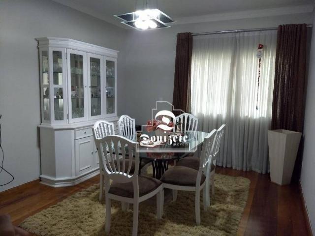 Sobrado com 4 dormitórios à venda, 427 m² por r$ 1.690.000,01 - campestre - santo andré/sp - Foto 3