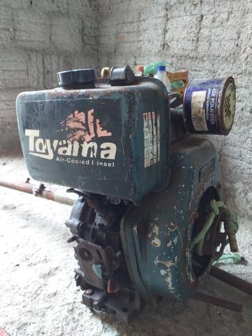 Motor Toyama 10hp Diesel - Foto 3