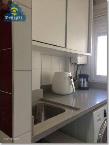 Apartamento com 3 dormitórios à venda, 89 m² por r$ 590.000,10 - cerâmica - são caetano do - Foto 8