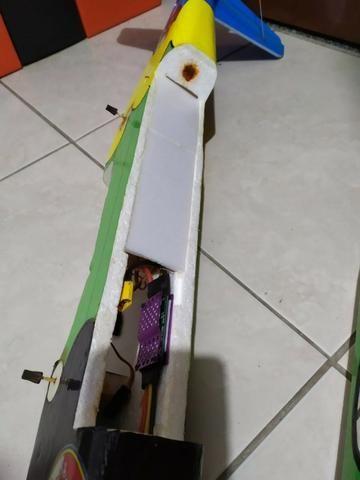 Aeromodelo Tucano + Eletrônica - Foto 4