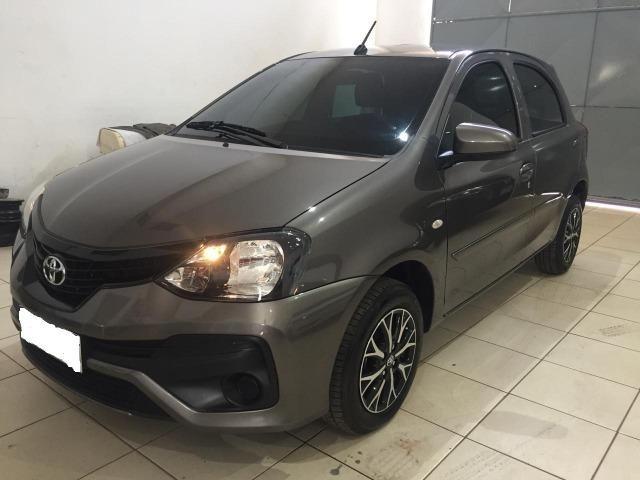 Etios 2019 Hatch X 1.3 6mil KM Automático Cheirando a Novo