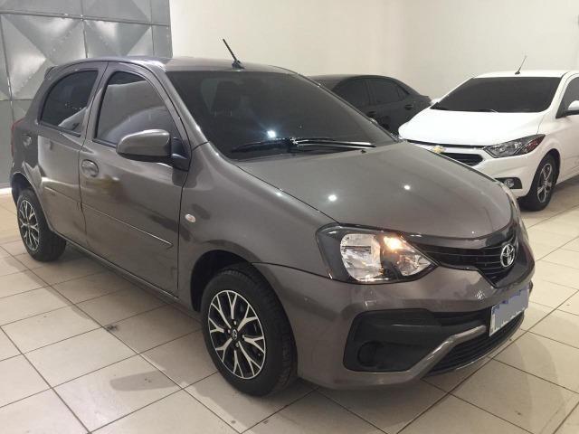 Etios 2019 Hatch X 1.3 6mil KM Automático Cheirando a Novo - Foto 5