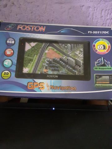 Gps fostom tela de 7 polegadas com tv - Foto 2