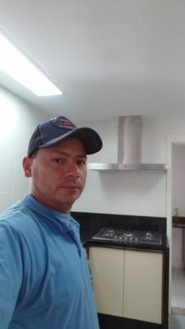 Instalação aquecedor coifa cooktop forno rede gas e medidor central de gas - Foto 6