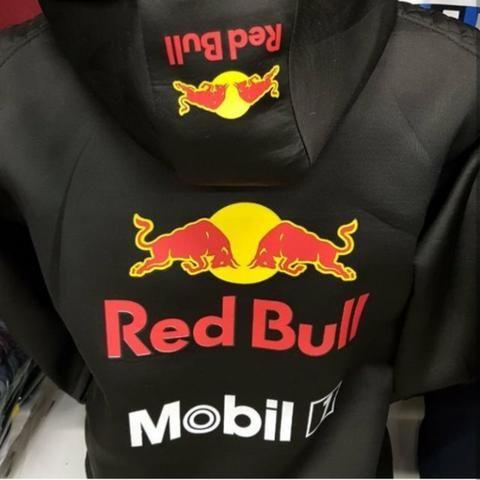 ba44258cca6e3 Agasalho Blusa Jaqueta Red Bull Racing F1 Toca Lançamento - Roupas e ...