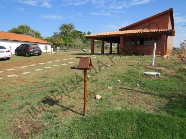 REF 225 Chácara 1187 m², casa novinha, ampla piscina, Imobiliária Paletó - Foto 2