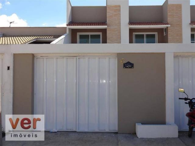 CA0159-Casa com 3 dormitórios para alugar, 94 m² por R$ 850/mês Messejana - Fortaleza/CE