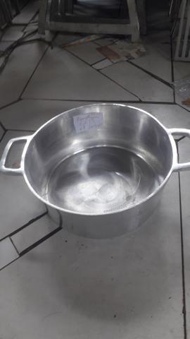 Panela de alumínio batido pra restaurantes